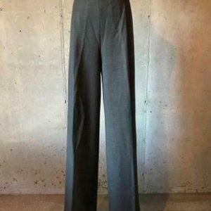 J.Crew $118 Wide-Leg Pleated Pants in Wool H3577
